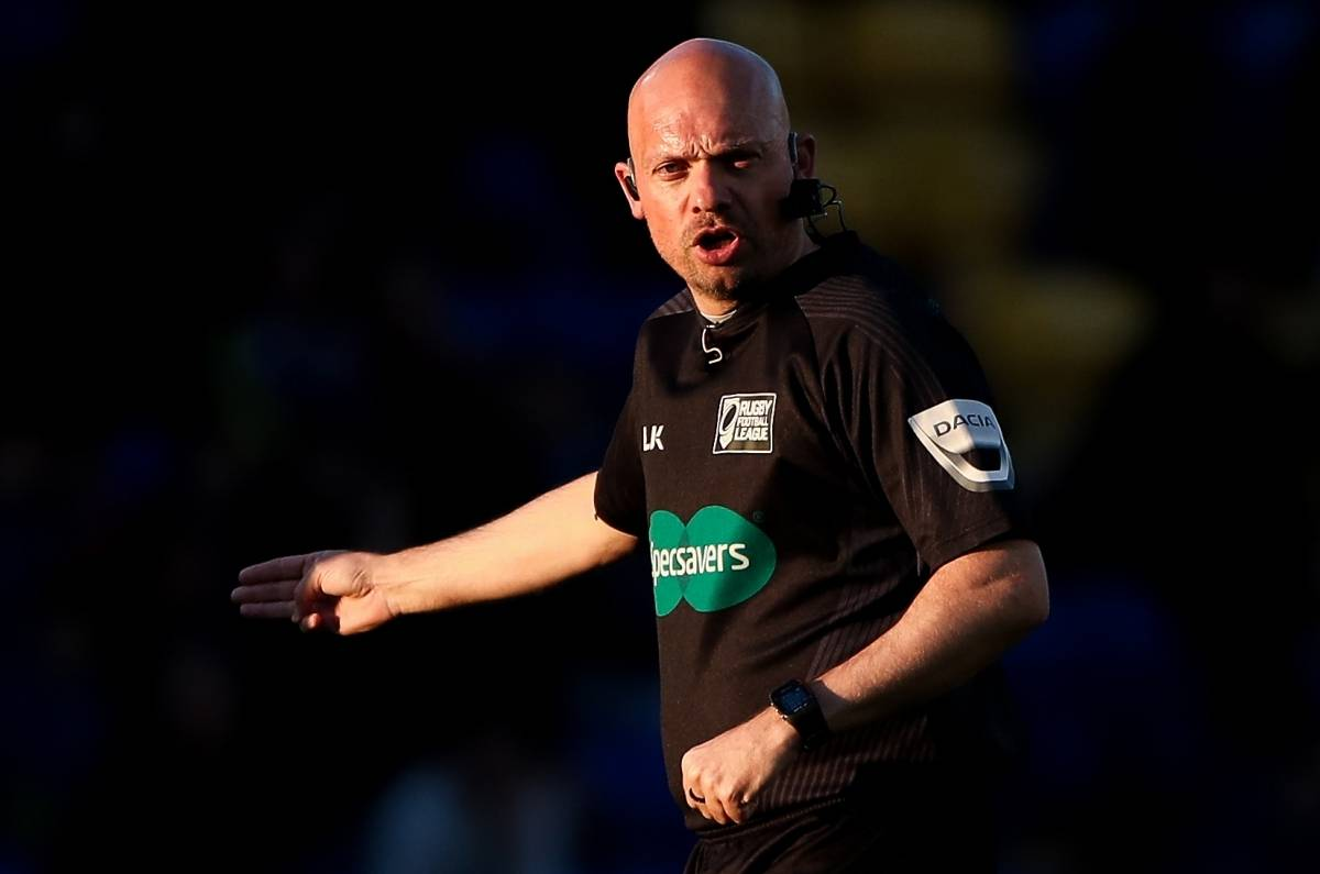 Bentham to referee Ladbrokes Challenge Cup final