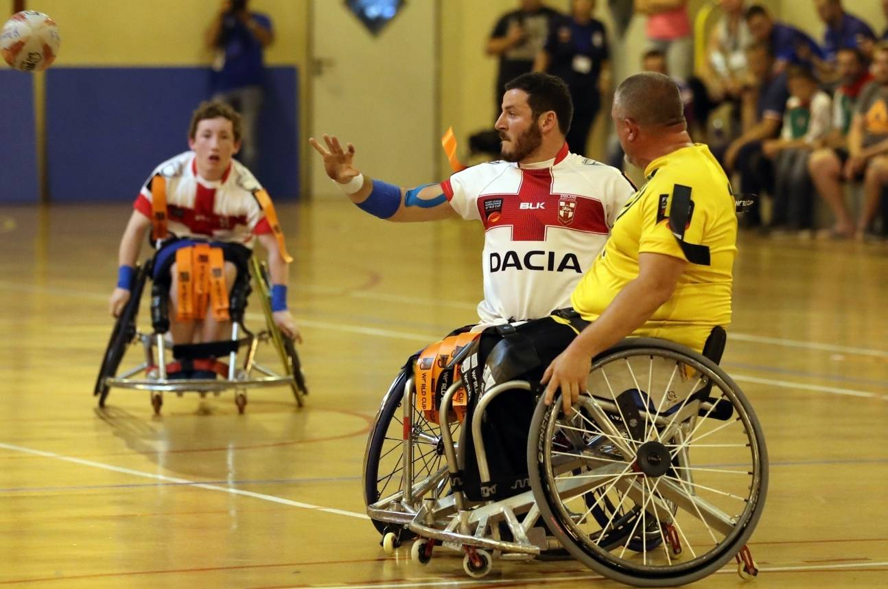 England reach Wheelchair RL World Cup Final