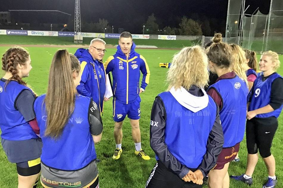 Leeds Rhinos step up Women's Super League preparations