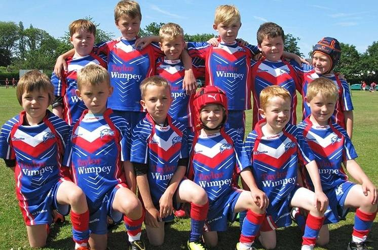 Get behind Shevington Sharks!