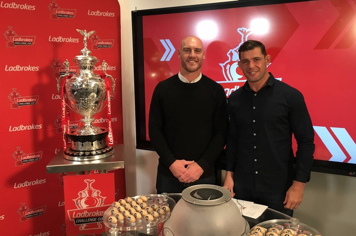 Ladbrokes Challenge Cup first round draw made