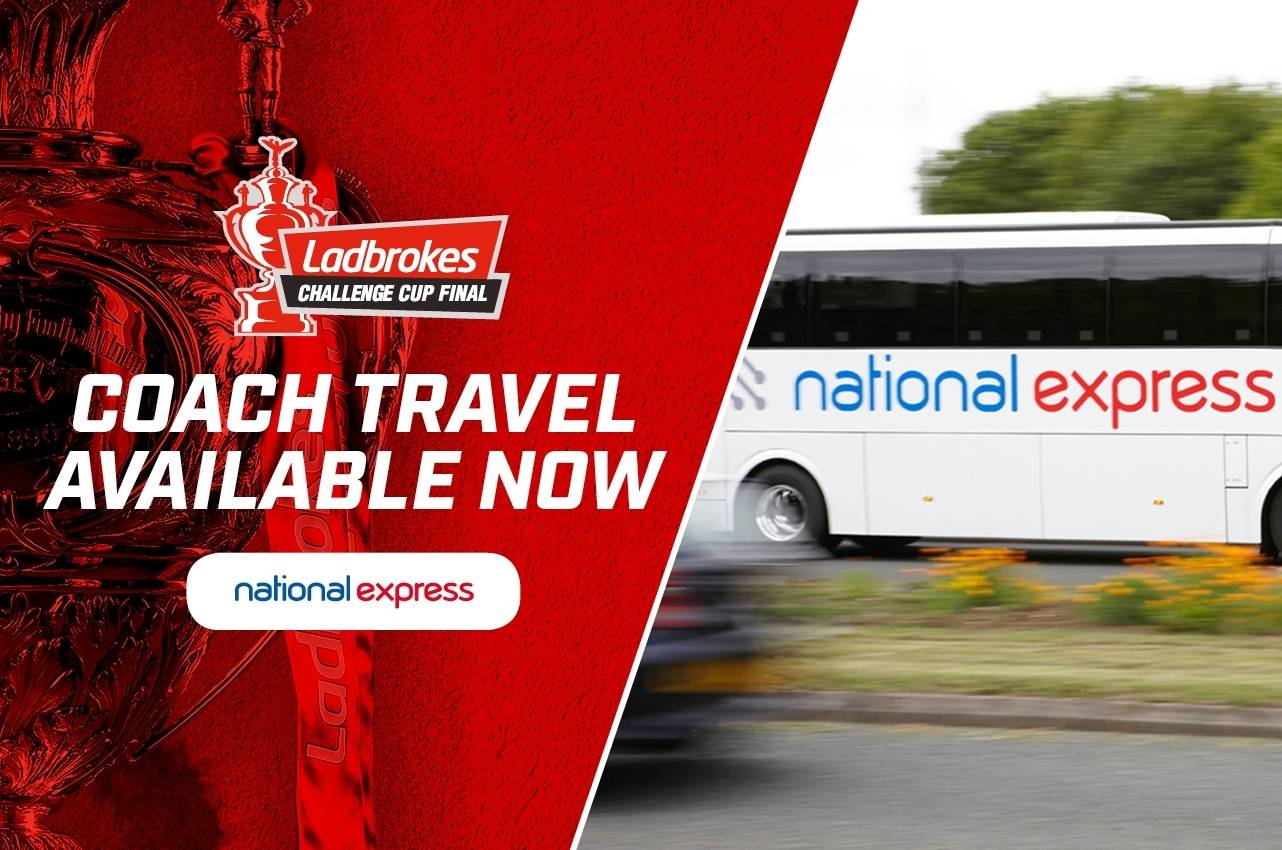 Get to Wembley with national express