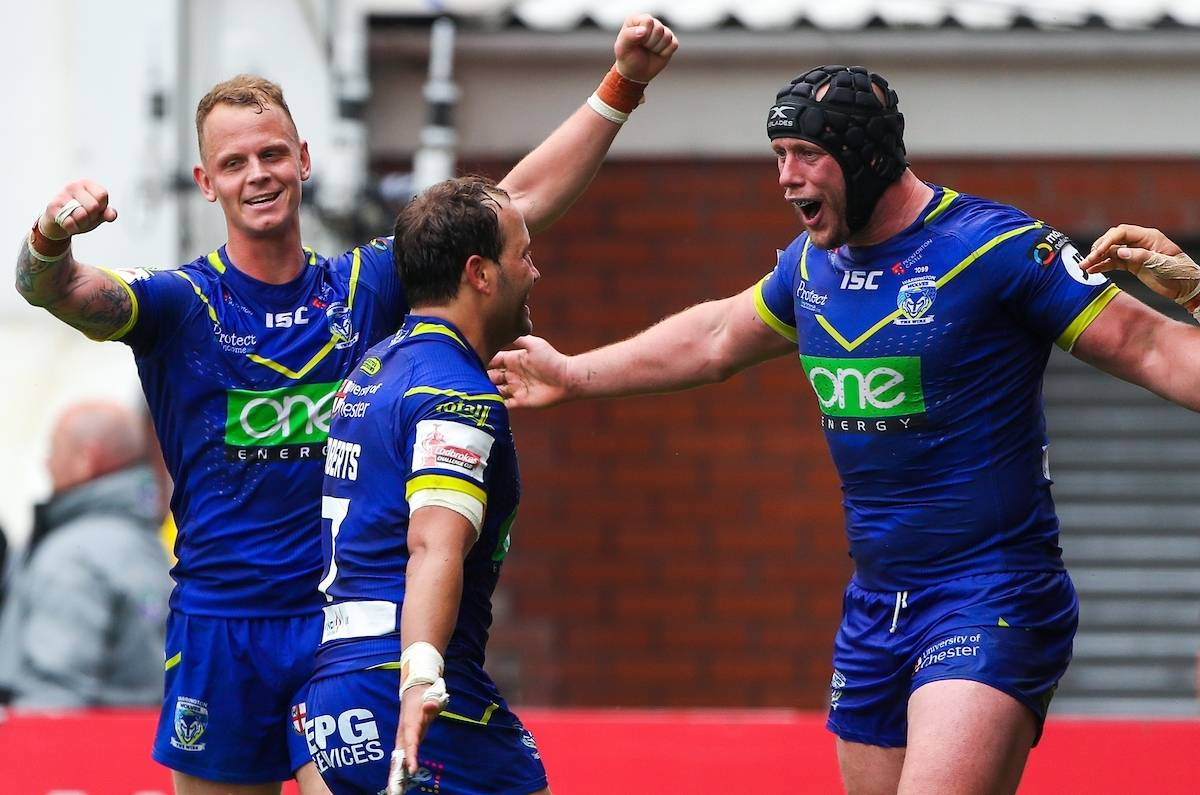 Warrington condemn Hull KR to the Qualifiers