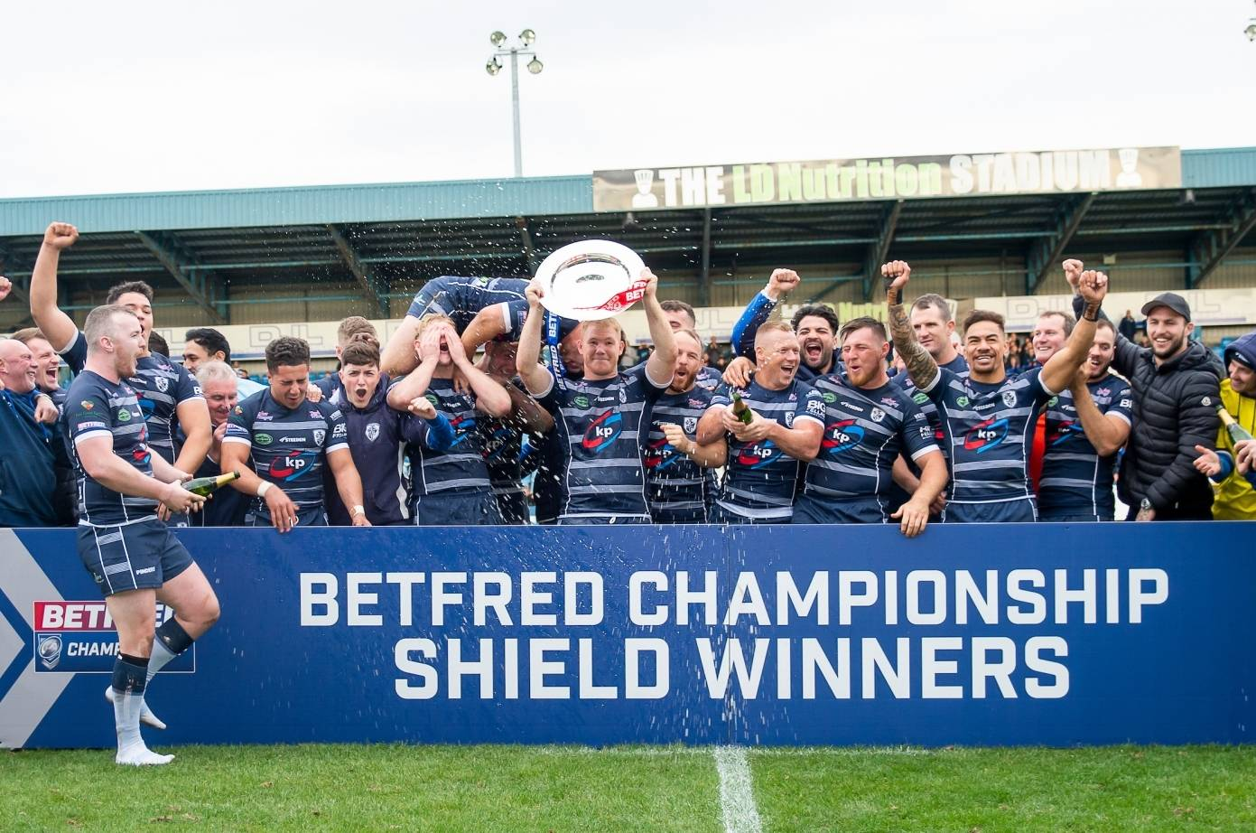 Featherstone lift Betfred Championship Shield