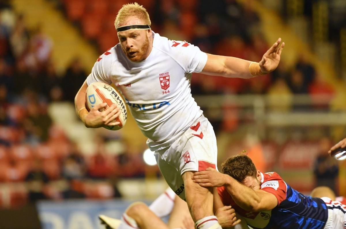 Oliver Holmes honoured to represent England