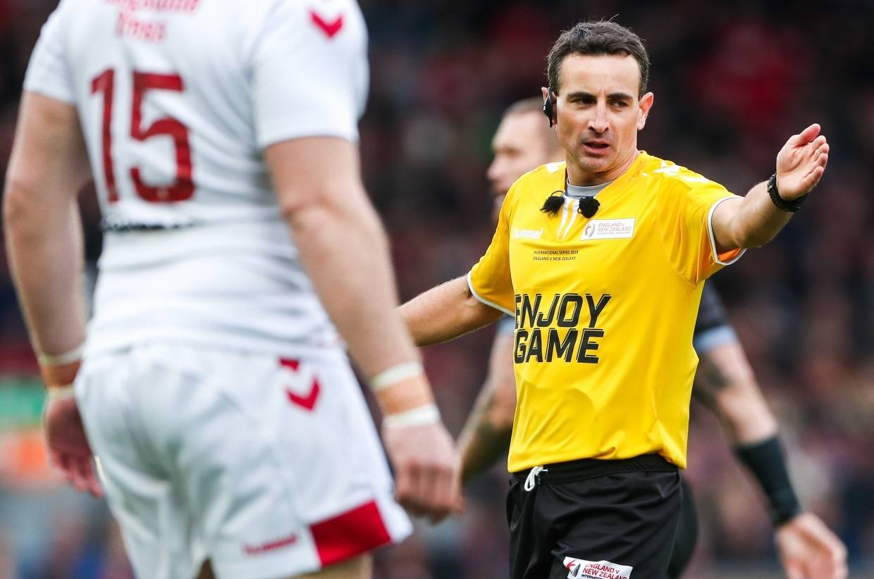 Gerard Sutton to referee final test at Elland Road