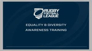 Equality & Diversity Awareness Training
