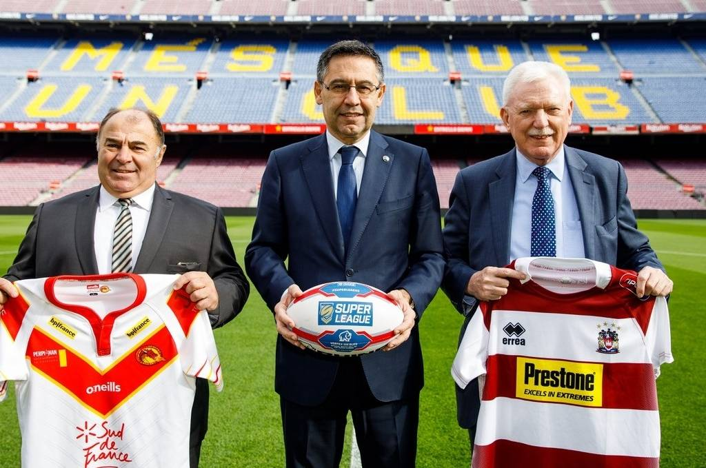 Catalans to face Wigan at Camp Nou