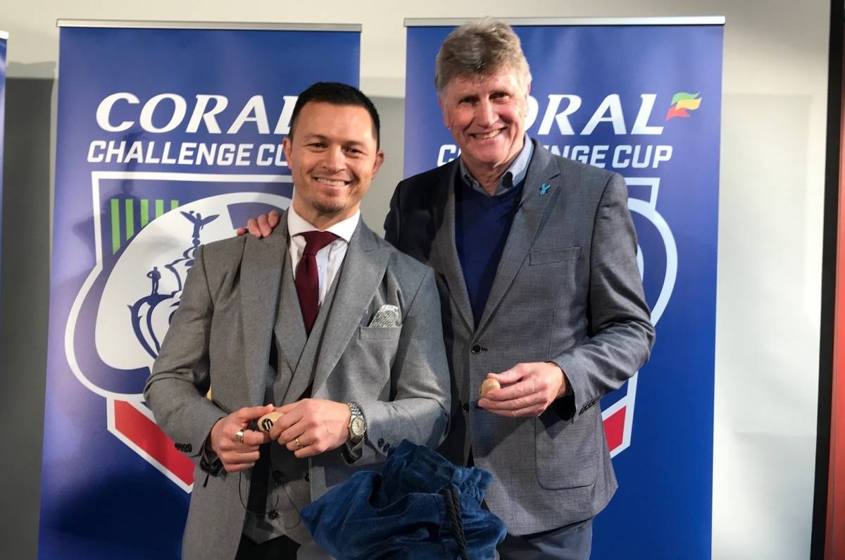 Coral Challenge Cup Fourth Round Draw made