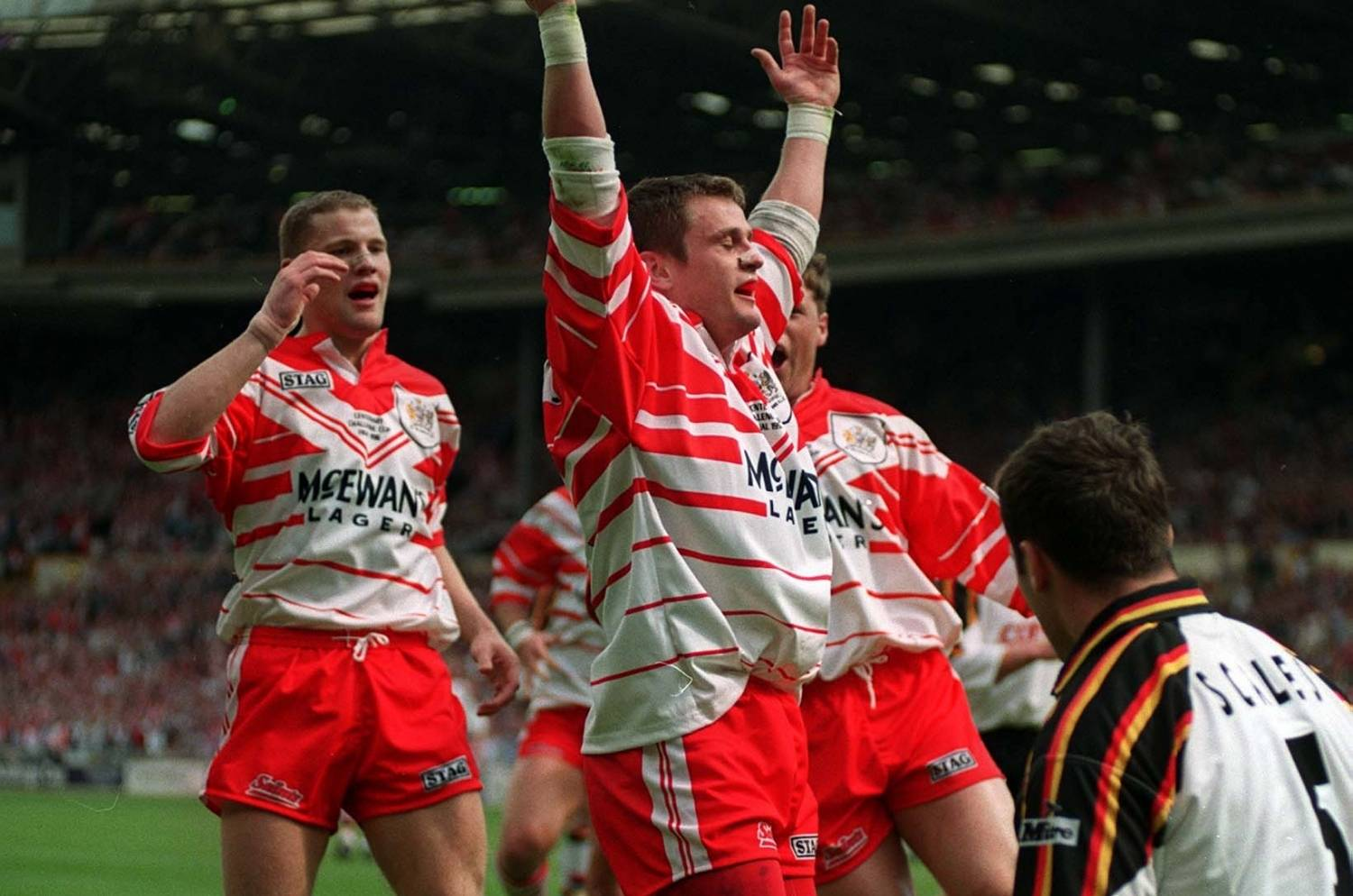 Quiz | Name the teams from the 1996 Challenge Cup Final