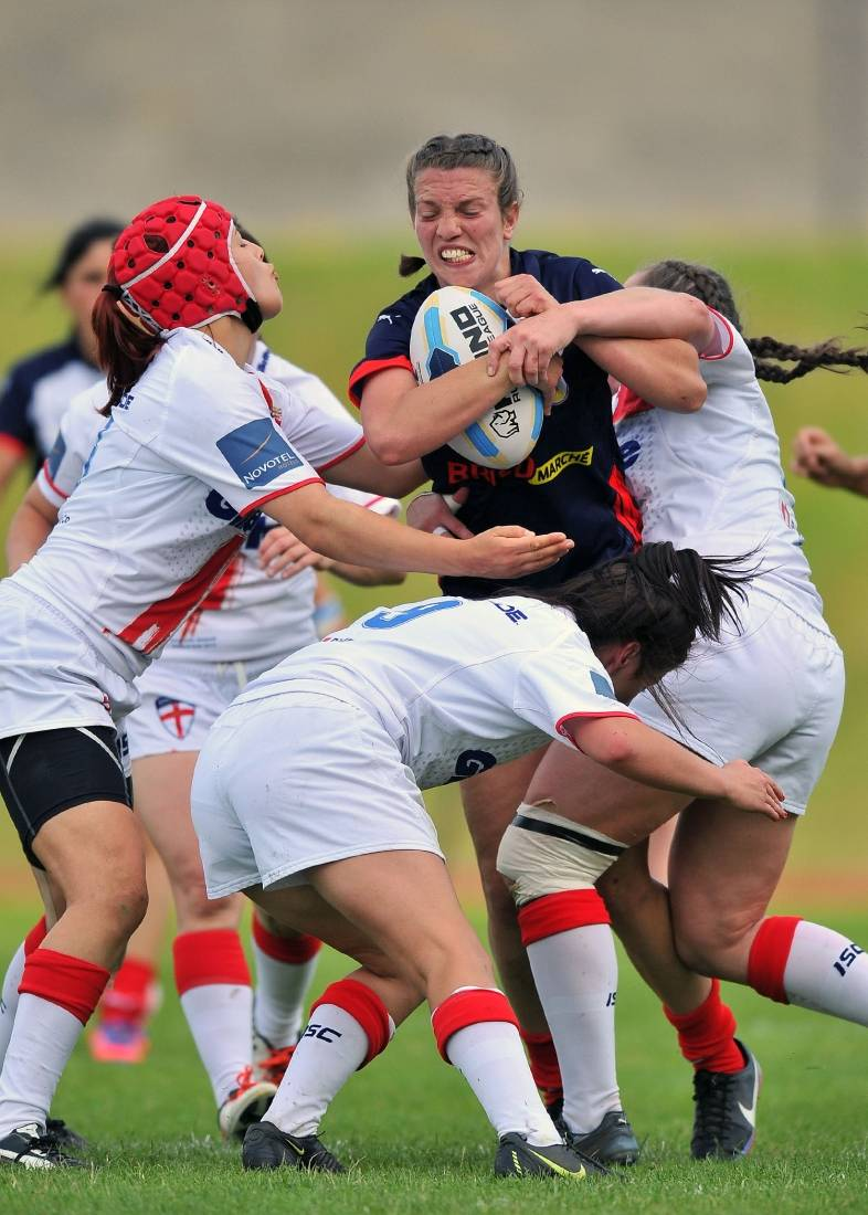 Women's 3rd Place Play Off: England v France